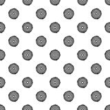 Tree rings pattern seamless vector. Repeat geometric for any web design vector illustration