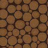 Tree rings saw cut tree trunk background Royalty Free Stock Photography