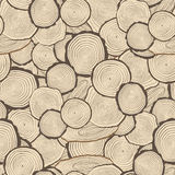 Tree rings saw cut tree trunk background Royalty Free Stock Photo