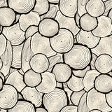 Tree rings saw cut tree trunk background Stock Photos