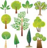 Tree samples stock illustration