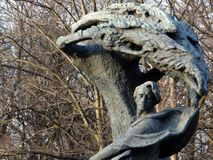 Tree, Sculpture, Rock, Statue stock images