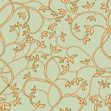 Tree seamless pattern Royalty Free Stock Photo