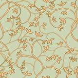 Tree seamless pattern Royalty Free Stock Photo