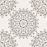 Tree seamless pattern Stock Image