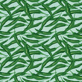 Green chili seamless pattern Royalty Free Stock Photography
