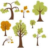 Tree Set Stock Images