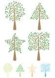Tree Shape_eps Stock Photo