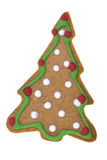 Tree Shaped Ginger Bread Isolated Royalty Free Stock Photos