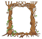 Tree-shaped photo-frame Royalty Free Stock Photography