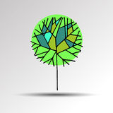 Tree sign vector symbol computer illustration graphic. Tree sign vector symbol computer illustration Stock Photography