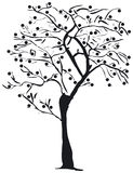 Tree silhouette. A Silhouette of a tree - additional ai and eps format available on request Stock Images