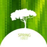 Tree silhouette vector Stock Photos