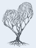Tree sketch Stock Photo