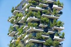 Tree skyscraper in Milan, Italy Stock Images