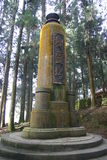 The Tree Spirit Tower at a nature trail of Alishan Stock Photography