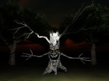 Tree Spook 8 Stock Images