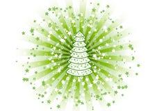 Tree and stars Stock Photo
