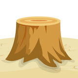Tree Stump Royalty Free Stock Photos