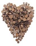 Tree Stump Heart Royalty Free Stock Photo