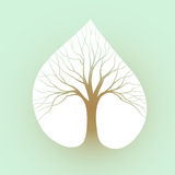 Tree symbol Royalty Free Stock Photography