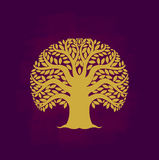 Tree symbol Asia style Stock Image