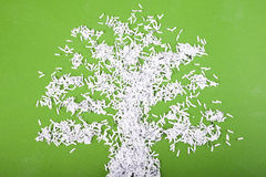 Tree symbol concept Stock Images