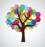 Tree symbolic picture Stock Photo