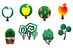 Tree symbols Stock Image