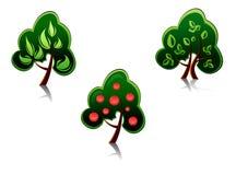 Tree symbols royalty free stock image