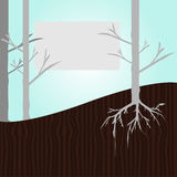 Tree template Stock Images