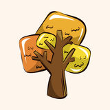 Tree theme elements vector,eps Royalty Free Stock Photo