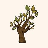 Tree theme elements vector,eps Stock Photo