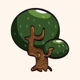 Tree theme elements vector,eps Royalty Free Stock Photos