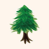 Tree theme elements vector,eps Royalty Free Stock Photography