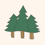 Tree theme elements vector,eps Royalty Free Stock Image