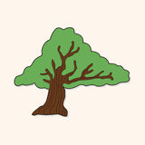 Tree theme elements vector,eps Royalty Free Stock Images