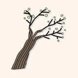 Tree theme elements vector,eps. Vector illustration file Royalty Free Stock Photography