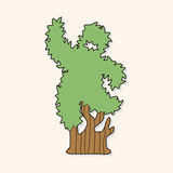 Tree theme elements vector,eps. Vector illustration file Stock Image