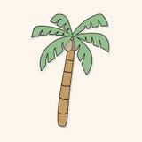 Tree theme elements vector,eps. Vector illustration file Stock Photo