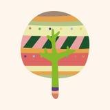 Tree theme elements vector,eps Stock Photos