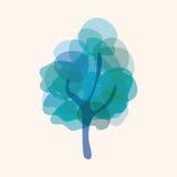 Tree theme elements vector,eps Stock Photography