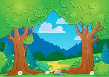 Tree theme image 8 Royalty Free Stock Images