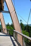 Tree top walk observatory Royalty Free Stock Photography