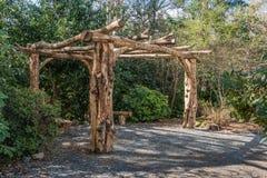 Tree Trunk Gazebo Stock Photos