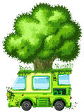 Tree Van Royalty Free Stock Image