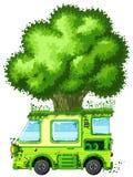 Tree Van Royalty Free Stock Image
