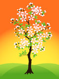 Tree. Vector. Royalty Free Stock Image
