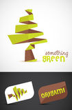 Tree Vector. Creative Origami tree design. Vector EPS10 file included Stock Photography