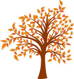 Tree, vector illustration Stock Photo